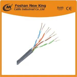 Cable de red UTP Cat5e Cat5e / Cable LAN para uso en interiores Cable de 4 pares 24AWG