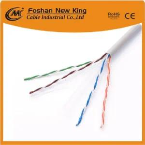Cable UTP FTP Cat5e CAT6 305m CCA Conductor Cable de red o cable LAN 24AWG