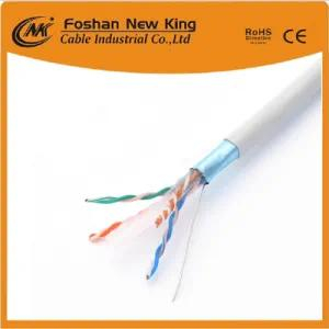 Fábrica 0.45, 0.50, 0.55, 0.58 mm Cable de datos Cable de red CAT6 Cable LAN Cobre sólido