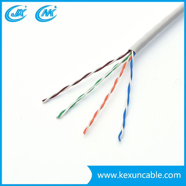 Cable de red / LAN / Cable de datos UTP / FTP Cat5e confiable de fábrica con conector RJ45
