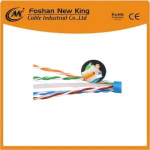 China Factory FTP / UTP Cat5e LAN Cable o cable de red 4X2X0.5mm Bc Pass Fluke Tia Channel Test