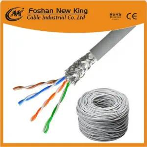 Cable Ethernet de red / computadora / LAN para interiores Cat5e UTP / FTP competitivo